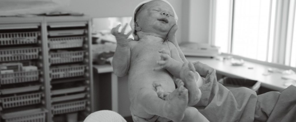 geboortefoto