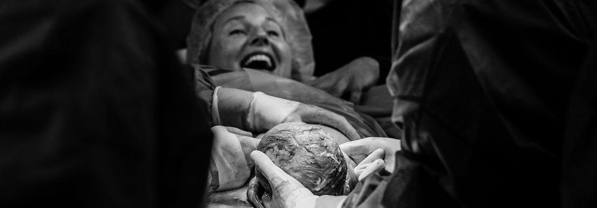 geboortefoto keizersnede