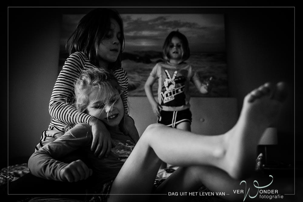 fotoshoot van het gezin