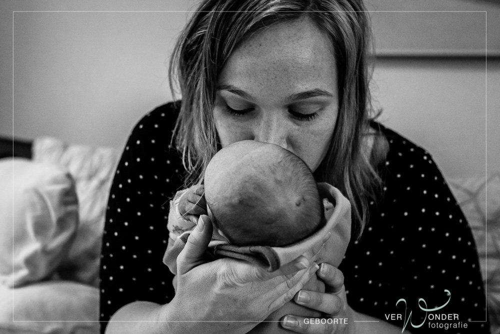 Eerste foto's na geboorte