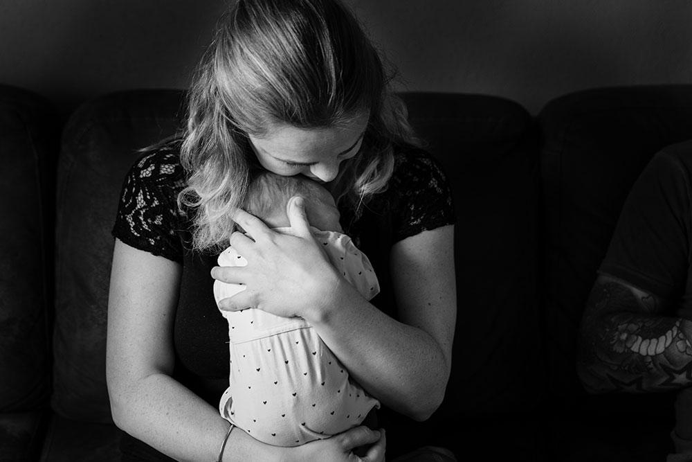 Geborgen Foetushouding