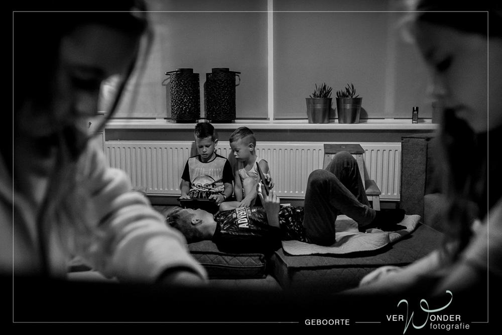 geboortefotograaf groot gezin