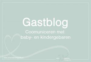 communiceren met baby en kinder gebaren