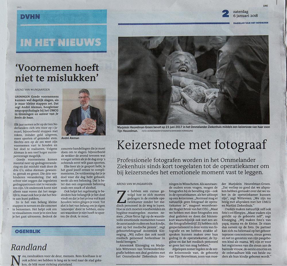 geboortefotografie Groningen